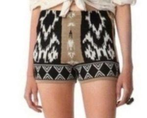 2/$30 Sparkle & Fade Shorts Aztec Print Size S